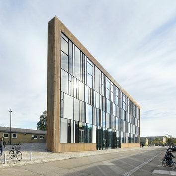 Библиотека по проекту COBE в Копенгагене в объективе Hufton + Crow