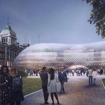 Норман Фостер представил проект временного здания для британского правительства