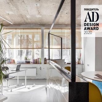 Победитель AD Design Award 2020: офис в Москве от студии DVEKATI