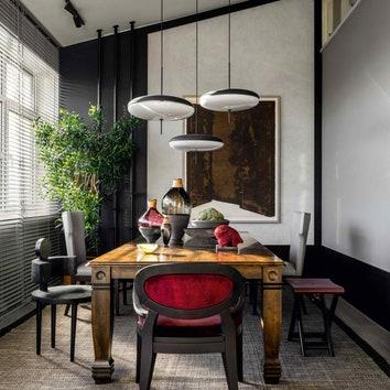 Квартира со сложной геометрией в Москве по проекту Марины Филипповой