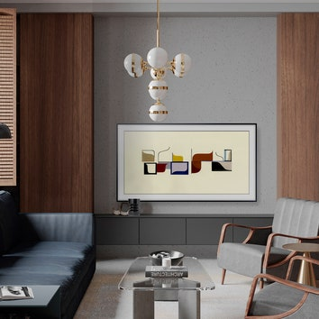 Техника как акцент в интерьере: показываем работы финалистов конкурса от AD и Samsung