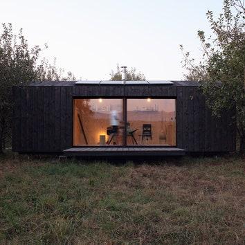 Автономная кабина для отдыха, 22 м²