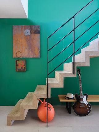Verdigris Green FarrowBall.