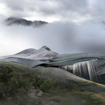 Спа-центр и водохранилище в Непале