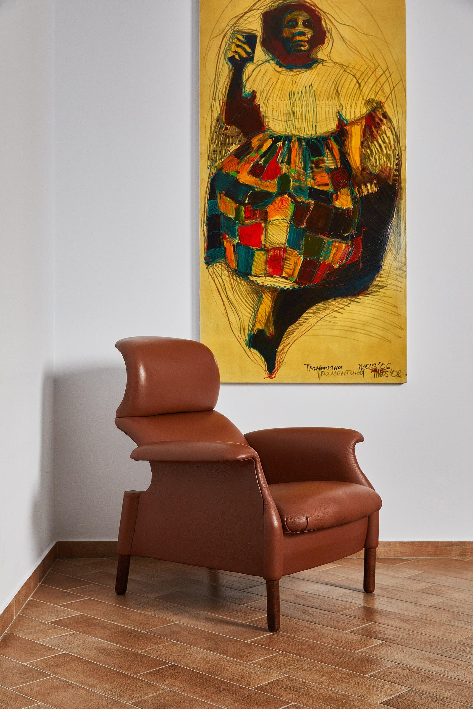 Achille amp Pier Giacomo Castiglioni.   Sanluca.  . 1959. 95 x 84 x 100 .
