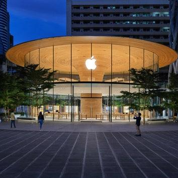 Новый магазин Apple в Бангкоке по проекту Foster + Partners