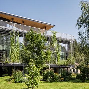 Экологичный офис по проекту бюро Snøhetta