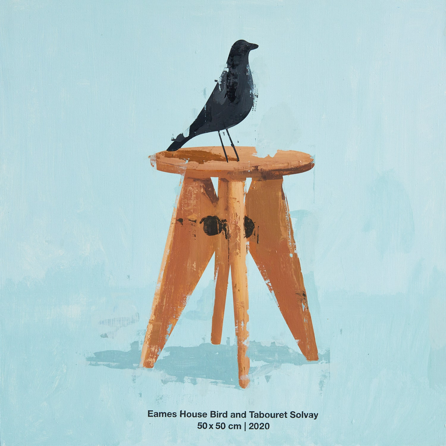 Eames House Bird and Tabouret Solvay. 2020. 50  50 .