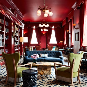 Максимализм и эклектика в отеле Maison de la Luz