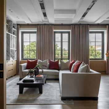 Квартира в Большом Патриаршем переулке, 116 м²