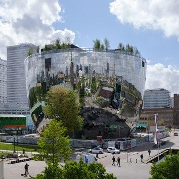 Музейное хранилище по проекту MVRDV в Роттердаме