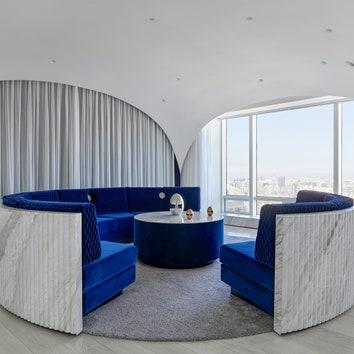 Квартира с круглыми комнатами в Пекине