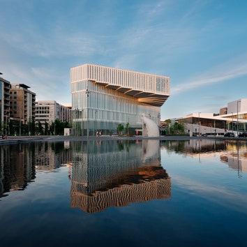 В Осло открылась новая библиотека по проекту Atelier Oslo и Lundhagem