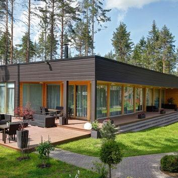 Тренд на экологичность: дома из бруса