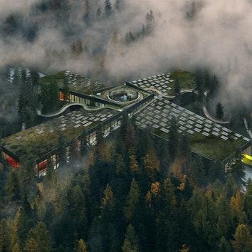 Мебельная фабрика по проекту BIG в Норвегии
