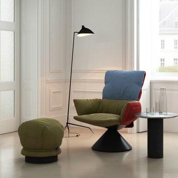 #ADLovesSalone: новое кресло Cappellini по дизайну Патриции Уркиолы