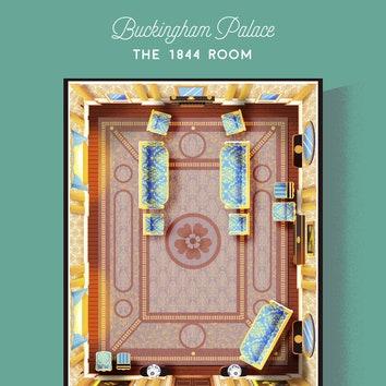 Как устроен Букингемский дворец: новые постеры с поэтажными планами