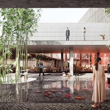 В Китае построят театр по проекту российской студии IND Architects и китайского бюро DA!