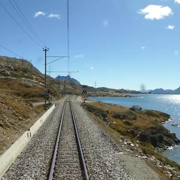 Виртуальное путешествие на поезде по самым красивым местам мира