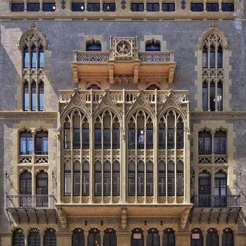 Инстаграм дня: фасады Барселоны
