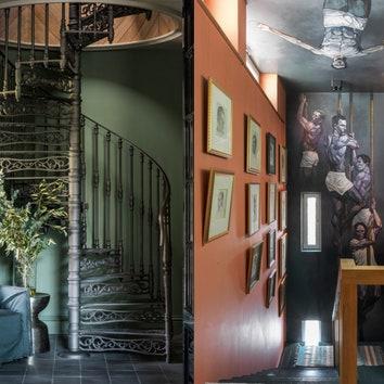 Как оформить лестницу: 13 примеров для дома и квартиры