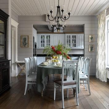 Как оформить деревянный дом: 7 советов