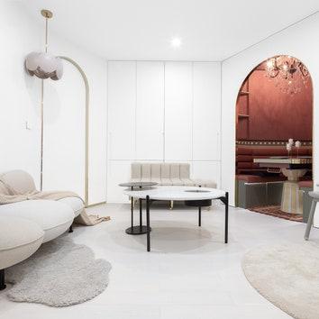 """Сложносочиненная"" квартира в Китае по проекту X+Living, 63 м²"