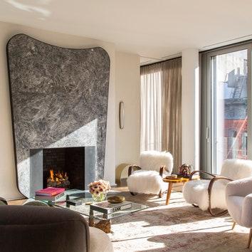 Квартира на Манхэттене по дизайну Самуэля Амойи