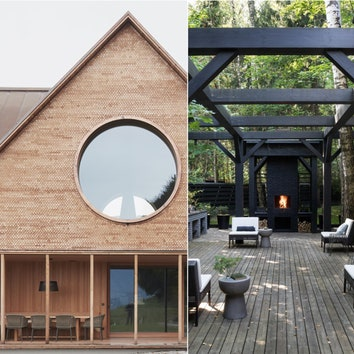 Жизнь за городом: 10 интересных проектов деревянных домов