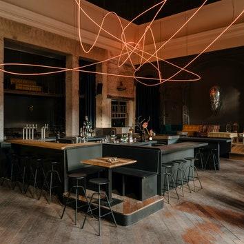 Искусство и экспериментальная кухня: ресторан KINK в Берлине