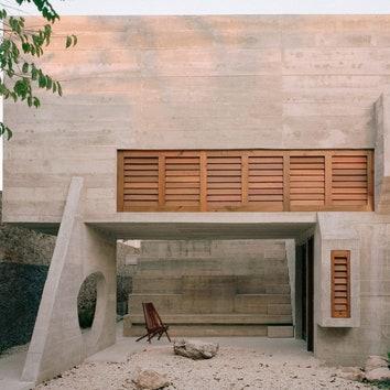 Дом, вдохновленный архитектурой цивилизации майя