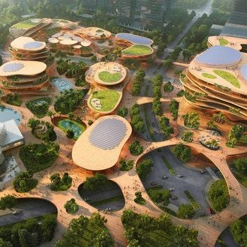 Проект общественного центра в Шэньчжэне от бюро MVRDV