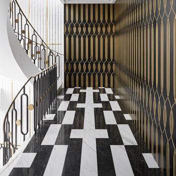 Студия Humbert & Poyet оформила интерьеры роскошной резиденции в Монако