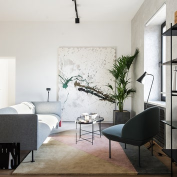 Светлая квартира на Цветном бульваре, 67 м²