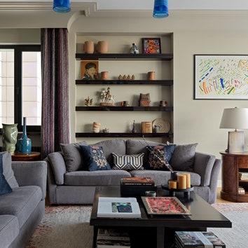 Квартира для семьи коллекционеров, 150 м²