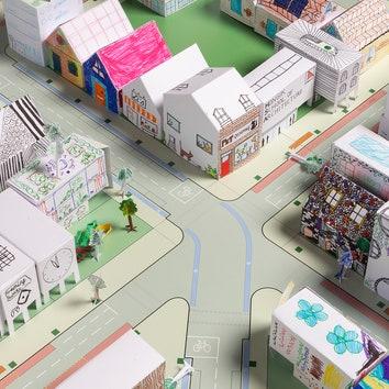 #architecturefromhome: архитектурные челленджи для детей от Foster + Partners
