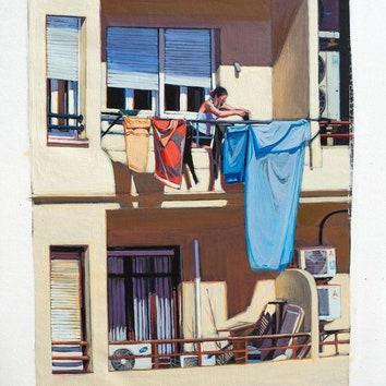 Инстаграм дня: виды из окна глазами художника Луиса Лонхедо