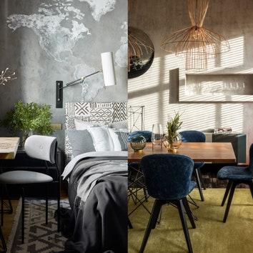 Как оформить бетон в интерьере: 9 вариантов