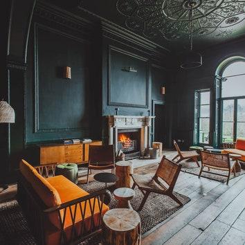 Современный отель в здании усадьбы XVIII века в Хартфордшире