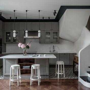 Дуплекс по проекту Архитектурной студии RE, 150 м²