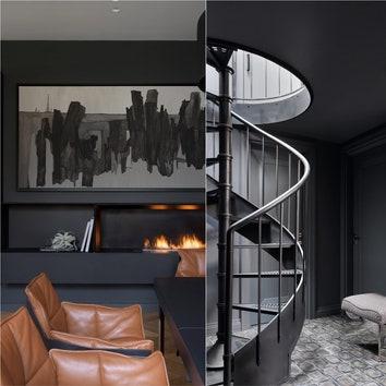 Черный цвет в интерьере: 11 примеров от дизайнеров