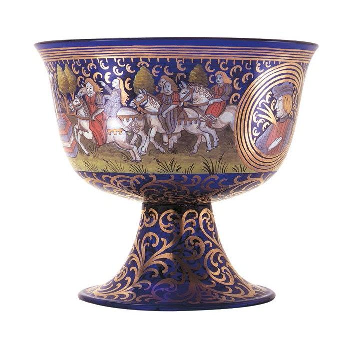 Barovier Wedding Cup       .        .