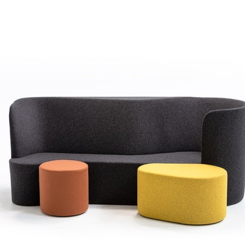 Новая коллекция мягкой мебели Taba от Moroso и дизайнера Альфредо Хаберли