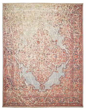 Коллекция ковров Erased Heritage от дизайнера Яна Ката