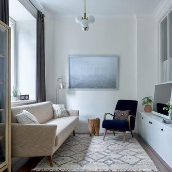 Квартира по проекту Юлии Голавской в Москве, 34 м²