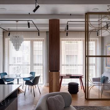 Апартаменты в Москве, 80 м²