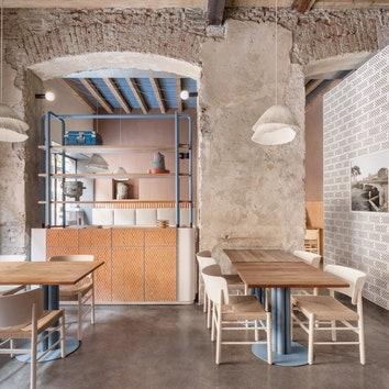 Новый интерьер миланского ресторана 28 Posti от Кристины Челестино