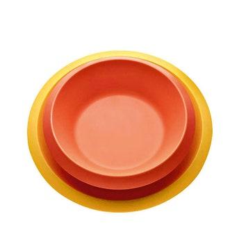 Набор детских ударопрочных тарелок Giro, Alessi.