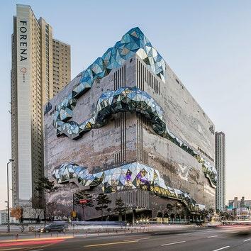 Архитектурное бюро OMA завершило строительство универмага Galleria в Южной Корее