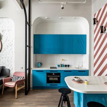 Яркая студия в лофт-комплексе, 37 м²